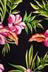 Aloha Floral Velour Romper, view 6, click to view large image.