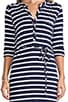 Classic Stripe Henley Dress, view 5, click to view large image.