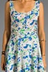 Cut Floral Tank Dress, view 5, click to view large image.