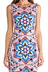 Modal Cutout Back Mini Dress, view 5, click to view large image.