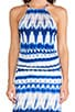 Double Slit Maxi Dress, view 5, click to view large image.
