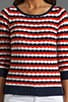 Wave Boatneck Sweater, view 3, click to view large image.