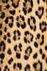 Cheetah Faux Fur Mini Pencil Skirt, view 7, click to view large image.