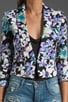 Cropped Floral Print Jacket, view 4, click to view large image.