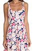 Floral Frenzy Box Pleat Dress, view 5, click to view large image.