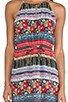 Folk Frenzy Maxi Dress, view 4, click to view large image.