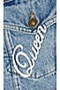Tropicana Denim Jacket, view 8, click to view large image.