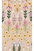 Flowerbed Embroidery Gown, view 4, click to view large image.