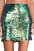 Galactica Mini Skirt, view 4, click to view large image.