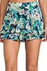 Flower Flirty Skort, view 4, click to view large image.