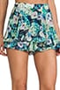 Flower Flirty Skort, view 5, click to view large image.