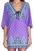 Moroccan Medallion Tunic, view 5, click to view large image.
