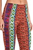 Printed Wide Leg Pants, view 5, click to view large image.