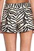 Tiger Print Shorts, view 6, click to view large image.
