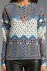 Rainbow Crew Sweatshirt, view 3, click to view large image.