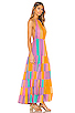 Neptune Maxi Dress, view 2, click to view large image.