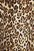 Image 8 of 7 For All Mankind The Slim Cigarette with Gold Zips in Cheetah Print