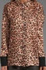 Wild Dots Printed Blouse, view 3, click to view large image.