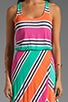 Cabana Stripe Dress, view 5, click to view large image.