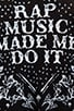 Rap Music Made Me Do It Tee, view 5, click to view large image.