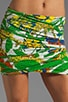 Mini Ruched Skirt, view 4, click to view large image.