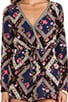 Renaissance Floral Onesie, view 5, click to view large image.