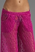 Boho Crotchet Cover Pant, view 4, click to view large image.