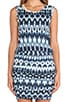 Brianna Summer Ikat Dress, view 5, click to view large image.