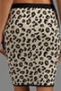 Belen Leopard Jacquard Skirt, view 6, click to view large image.
