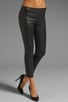 Leather Cropped Legging, view 1, click to view large image.