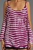Sienna Open Shoulder Tie Dye Top, view 3, click to view large image.