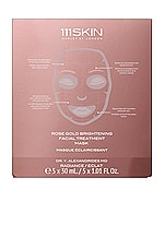 111Skin Rose Gold Brightening Facial Treatment Mask 5 Pack