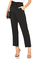 1. STATE Tapered Pant in Rich Black