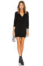 27 miles malibu Clarina Oversized Sweater Dress in Black