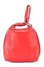 3.1 phillip lim Ines Soft Triangle Pouch in Crimson