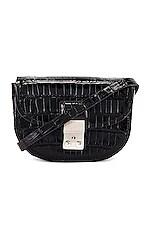 3.1 phillip lim Pashli Mini Saddle Belt Bag in Black