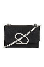 3.1 phillip lim Alix Chain Clutch Crossbody Bag in Black