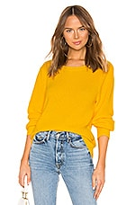 525 america Bishop Sleeve Pullover in Sunshine