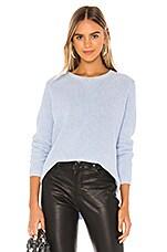 525 america Emma Shaker Sweater in Water Blue Melange