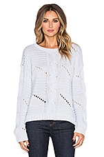 PULL CROPPED GROSSE MAILLE CENTER