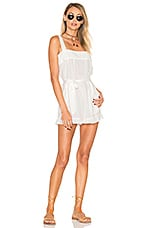 Rumba Romper in Moonlight White