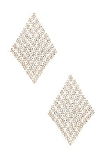 8 Other Reasons Pave Earring in Silver