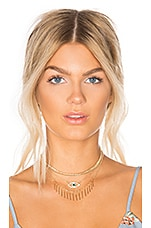 8 Other Reasons Clairvoyance Choker in Gold