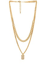 8 Other Reasons Charlie Necklace in Gold
