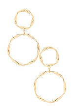 8 Other Reasons Hella Hoop Earring in Gold