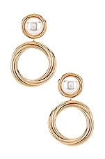 8 Other Reasons Jay Earrings in Gold