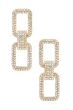 8 Other Reasons Rich Girl Earrings in Gold
