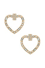8 Other Reasons Heart Throb Hoops in Clear
