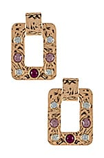 8 Other Reasons Date Night Earrings in Gold Pink