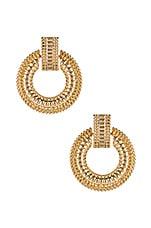 8 Other Reasons Gemma Earrings in Gold